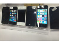 iPhone 4S 8GB, 16GB and 32GB unlocked to any network, white and black, excellent condition