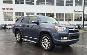 2012 Toyota 4Runner Limited -4x4 -Nav -Leather -Sun Roof -7 seat