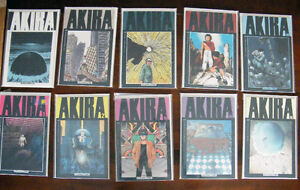 Akira, Fear Itself, Fell, Hitman, Moon Knight, Lucifer Comics