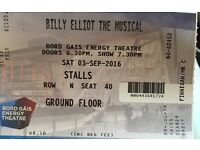 2x tickets for Billy Elliot musical
