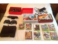 XBOX 360 Console, Kinect and plus games, accessories etc.