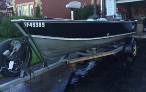 16ft Lund with 50hp Yamaha