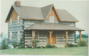 Log Homes and Cottages for sale