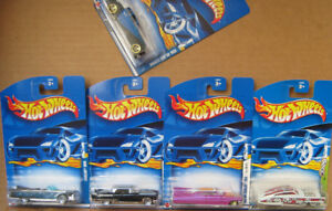 4 + 1  Cadillac  DieCast  Models,   New and in Original package