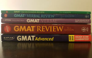 GMAT Books - 5 book study pack!