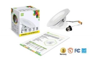23 Warm White 7.5W 4-inch LED Pot Lights - new in box