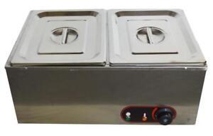 Two Pan Chocolate Melter Electric Melting Machine Melt Hot Pot#140127