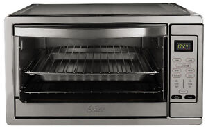 Oster TSSTTVDGXL-SHP Digital Toaster Oven, X-Large, Stainless St
