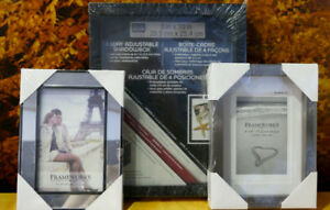 3 NEW PICTURE FRAMES