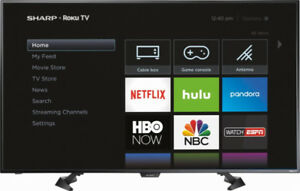 Sharp - 50'' Class - LED - 1080p - Smart - HDTV Roku TV