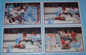 1996, CANADIENS de MONTREAL, 4 NAPPERONS McDonald's