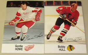 Esso NHL All-Star Collection Gordie Howe & Bobby Hull