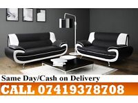 Zara D-I-S-C-O-U-N-T-E-D PRICES 50%-----FOR C-A-R-O-L WHITE AND BLACK3 AND 2 SEATER SUITE