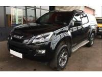 2015 BLACK ISUZU D MAX 2.5 TD BLADE 4X4 CREW CAB PICKUP CAR FINANCE FR 62 PW