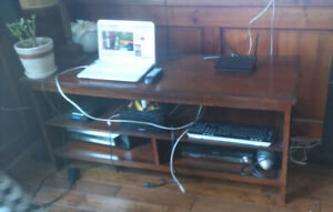 TV / electronics device stand / table / cabinet $40