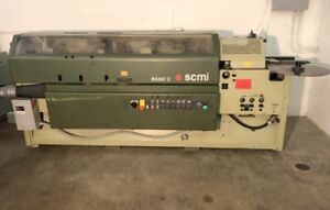 SCM BASIC 2 EDGEBANDER, WADKIN PLANER * WW MACHINERY SALE