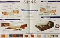 Electric Hospital Bed Double & Bariatric Adjustable beds