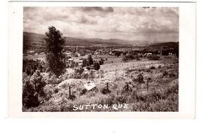 Carte postale photo de SUTTON, Qué.