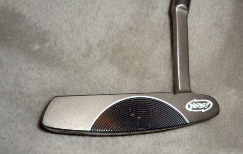 Yes C-Groove Dianna Golf Putter 33 inches  with Headcover