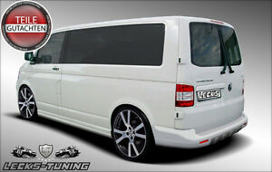 LECKS-TUNING VW T5 Transporter 03-13 Set Seitenschweller Schweller Side Skirts