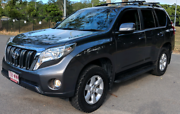 2016 Toyota Prado GXL automatic leather 42,000km Albion Brisbane North East Preview