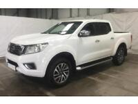2016 WHITE NISSAN NP300 NAVARA 2.3 DCI 4WD N-CONNECTA CAR FINANCE FR £67 PW