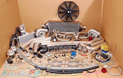 Chevy Twin Turbo Kits - NEW Small Block Chevy Twin Turbo TT kit  1000HP SBC Chevrolet Camaro Trans AM