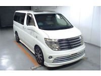 FRESH IMPORT NISSAN ELGRAND RIDER 3.5 V6 AUTO TOP OF THE RANGE ELECTRIC DOOR