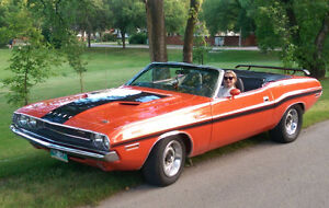 1970 Dodge Challenger Convertible. Numbers matching; 340-4bbl.