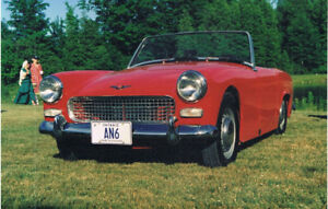 Austin Healey Sprite $9500  Great driving condition.