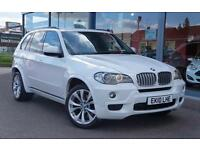 2010 BMW X5 xDrive35d M Sport Auto PRO NAV, LEATHER, XENONS and E TAILGATE