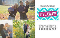 Family Session *GIVEAWAY*