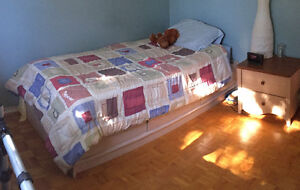 Kid captain bed with 3 built in draws with mattress