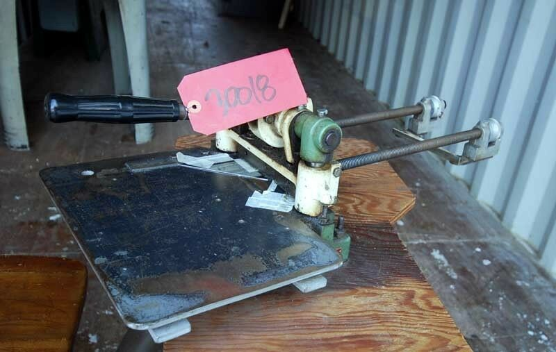 Diacro 6 Inch Shear with Back Gauge (Inv.30018)