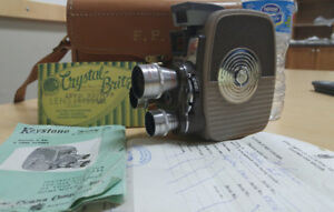 Keystone 8mm Vintage Movie Camera