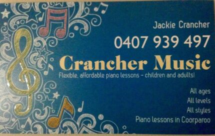 Affordable piano lessons all ages! Coorparoo Brisbane South East Preview