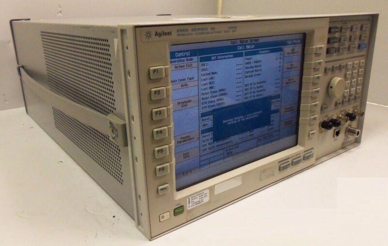 E5515B 8960 Series 10 Wireless Communications Test Set Agilent Keysight