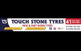 Car tyres - car tires . New & part worn tyres . PartWorn tires
