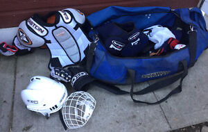 Hockey equipment for youth
