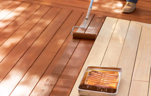 Deck stain in Brampton