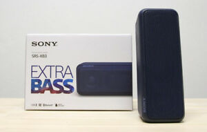 2 Sony Bluetooth speaker SRS XB3