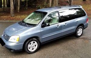 2002 Ford Freestar Sport Minivan, Van