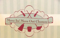 Move In/ Move Out Cleaners