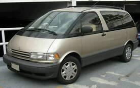 Toyota previa 2.4 Petrol Breaking