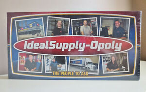 IdealSupply-Opoly Monopoly Board Game New Condition Great Tokens