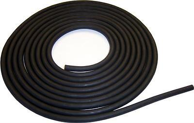 18x132 W Surgical Latex Rubber Tubing 5 Feet Black
