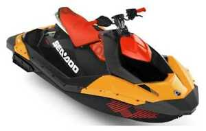 2018 Sea-Doo/BRP 65JC SPARK 2UP TRIXX ORG/RED