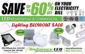 POT LIGHTS / LED BULBS / ELECTRICAL SUPPLIES BLOWOUT PRICES !!