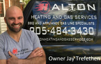 Gas Line Installation -Appliances - Booking Saturday Oct 20th
