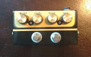 ZVEX Box of Rock handbuilt clone.